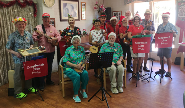 Christmas Gig at Mercy Aged Care, Northcliff Chelsea