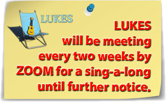 Lukes will meet by Zoom until further notice