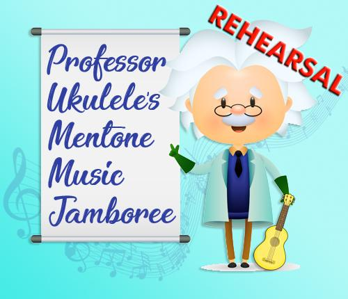 REHEARSAL FOR PROF UKES MENTONE MUSIC JAMBOREE
