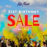 PAT'S MUSIC STORE MAY SALE